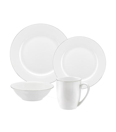royal worcester 16-piece serendipity platinum set