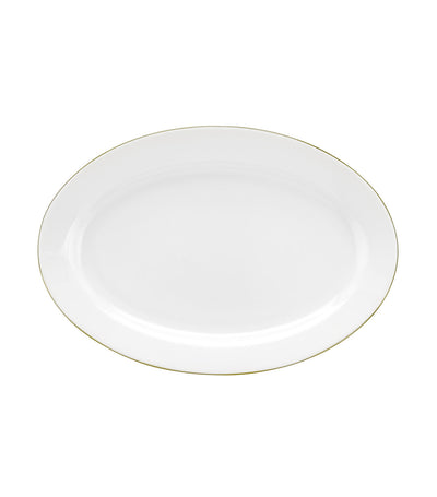 royal worcester oval platter 12-inch gold