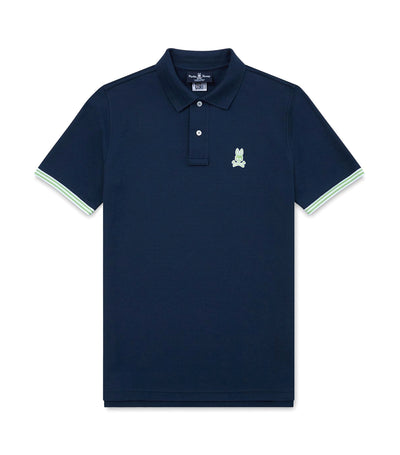 psycho bunny walton polo shirt midnight
