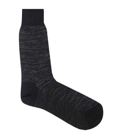 Gaudi Dress Socks Black and Gray (43-45)