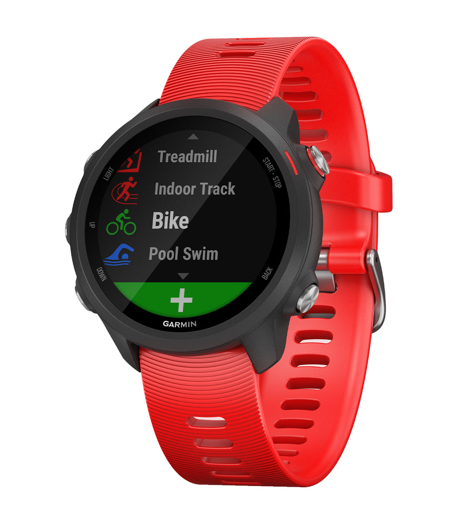 Forerunner® 245 Music Lava Red