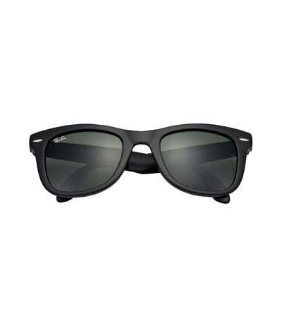 ray-ban wayfarer folding classic rb4105 black