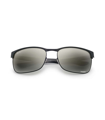ray-ban chromance carbon fiber grey gradient