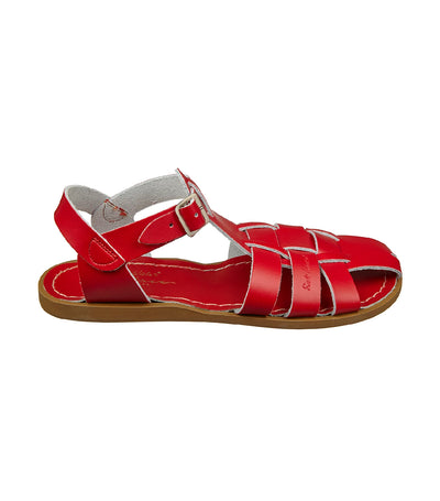 salt-water sandals woman shark original sandals red