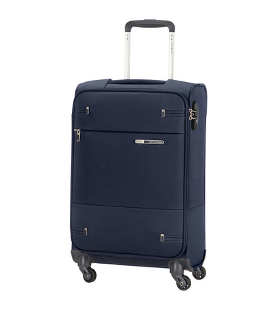 samsonite base boost spinner 55/20 expandable blue