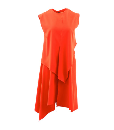 Lapis Dress Orange
