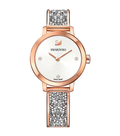 swarovski cosmic rock white watch