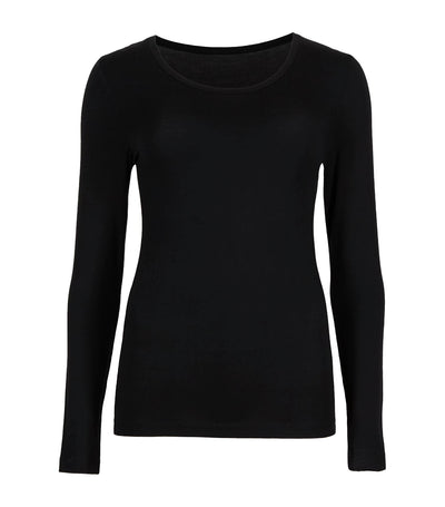 Heatgen™ Thermal Long Sleeve Top Black