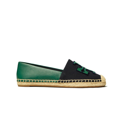 Tory Burch Ines Fil Coupé Canvas Espadrille - Perfect Navy/Malachite