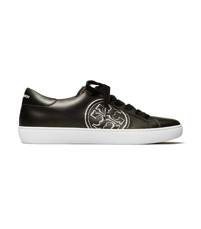 Tory Burch T-Logo Embellished Sneaker - Perfect Black