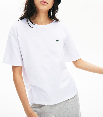 Women's Crew Neck Premium Cotton T-Shirt White