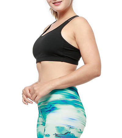 Toshi Sports Bra Black