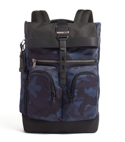 Lance Backpack Navy Camo