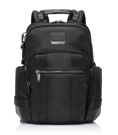 Norman Backpack Leather Black