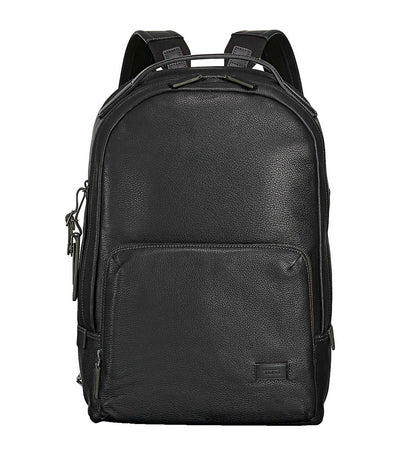 Webster Backpack Black Pebbled