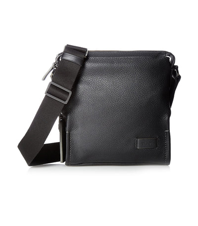 Scott Crossbody Black Pebbled
