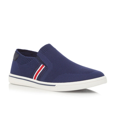 Tycoon Slip-On Trainers Navy