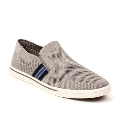 Tycoon Slip-On Trainers Gray