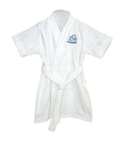 Terry Bathrobe - White