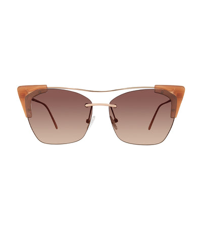 privé revaux mads classic nude / brown gradient