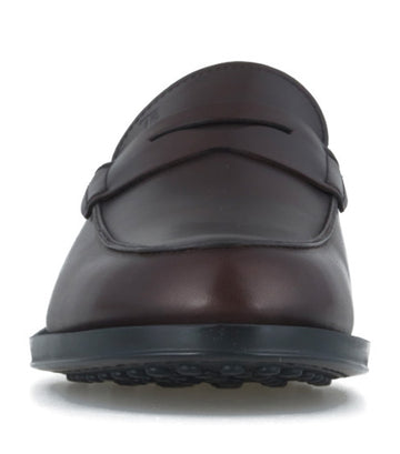 Leather Loafers Brown