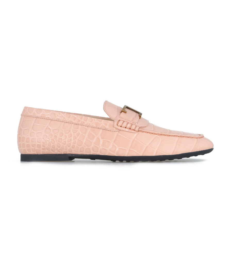 Timeless Loafers in Leather Pink