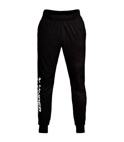 under armour sportsyle cotton graphic joggers black