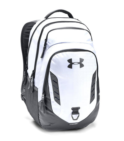 under armour ua gameday backpack white and gray