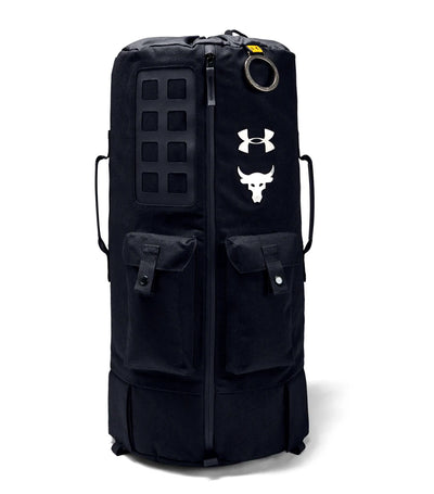 under armour ua project rock 90 gym bag black