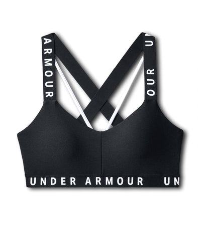 under armour ua woodmark strappy sportlette black