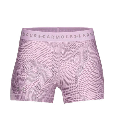 under armour heatgear armour shorty printed purple