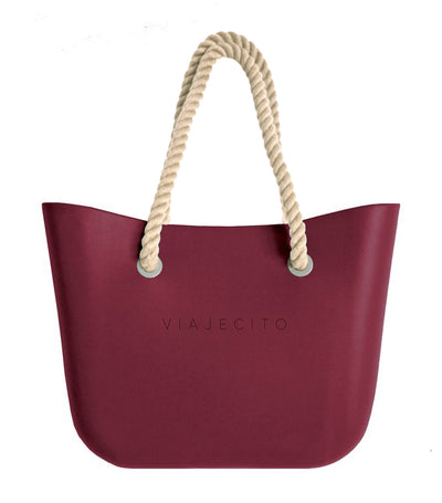 Classic Tote Wine Red