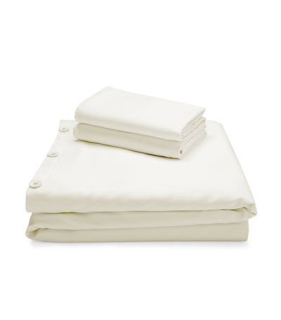 malouf woven™ rayon from bamboo duvet set - white