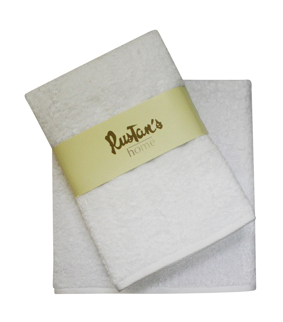 Rustan's Home Towels - White
