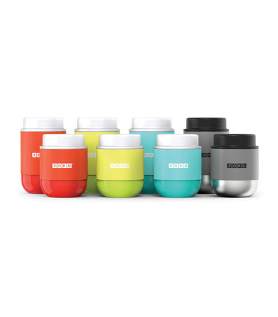 zoku 10oz neat stack food jar