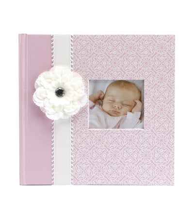 c.r. gibson slim bound photo journal album - bella
