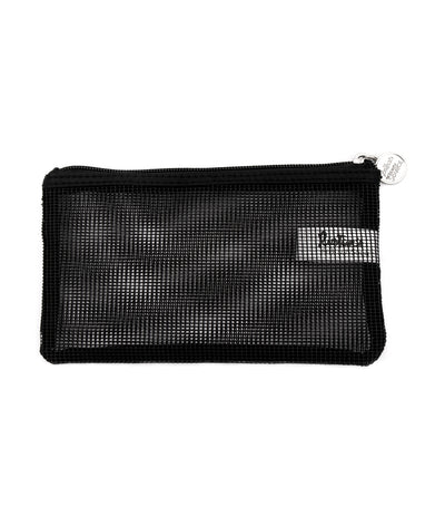 beauty essentials rubber mesh small purse