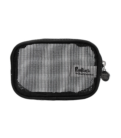 beauty essentials mesh square small purse