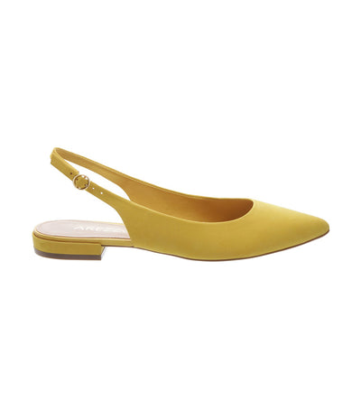 arezzo pointed slingback flats