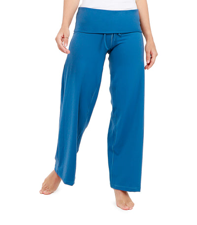 atsui asami easy pants royal blue