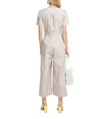 astr wesley jumpsuit natural