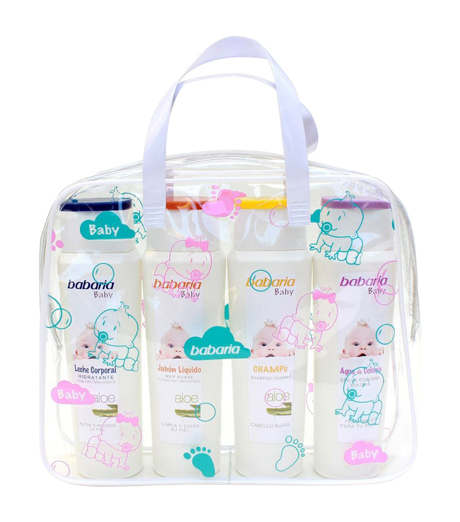 babaria baby pack in tote bag