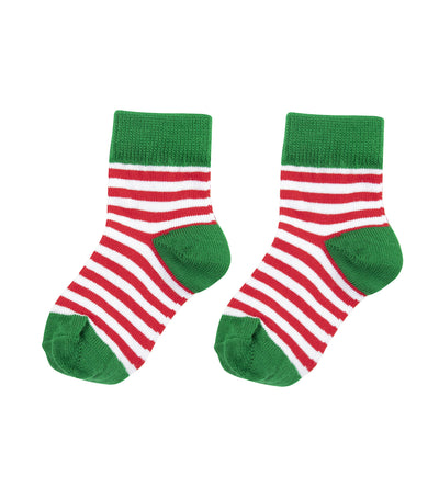 baby club green jolly christmas socks