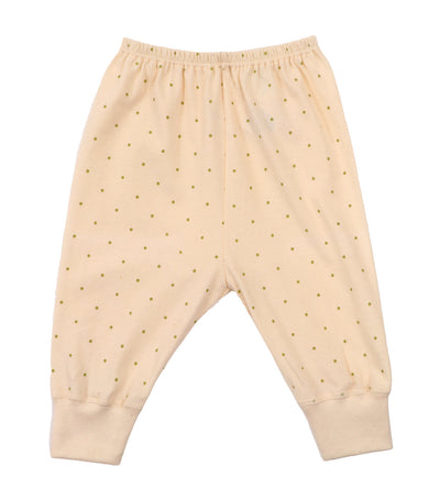 baby club cream jammy organic jogger pajamas