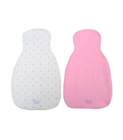 baby club pink and white sweety sweat pad