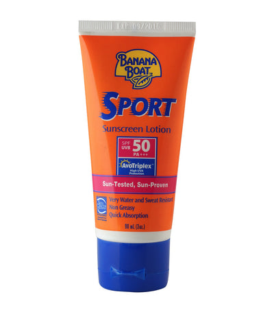banana boat sport sunscreen lotion spf50 90ml