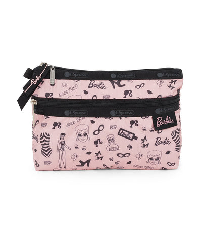 barbie x lesportsac cosmetic clutch barbie life