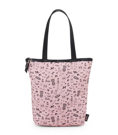 barbie x lesportsac daily tote barbie life
