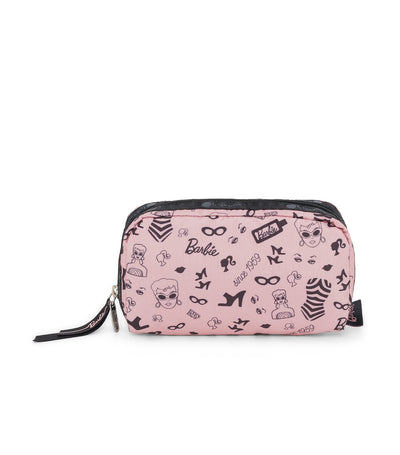 barbie x lesportsac rectangular cosmetic barbie life