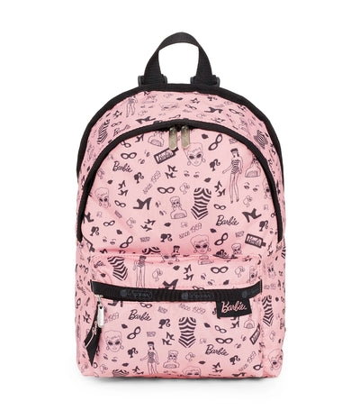 barbie x lesportsac small hollis backpack barbie life